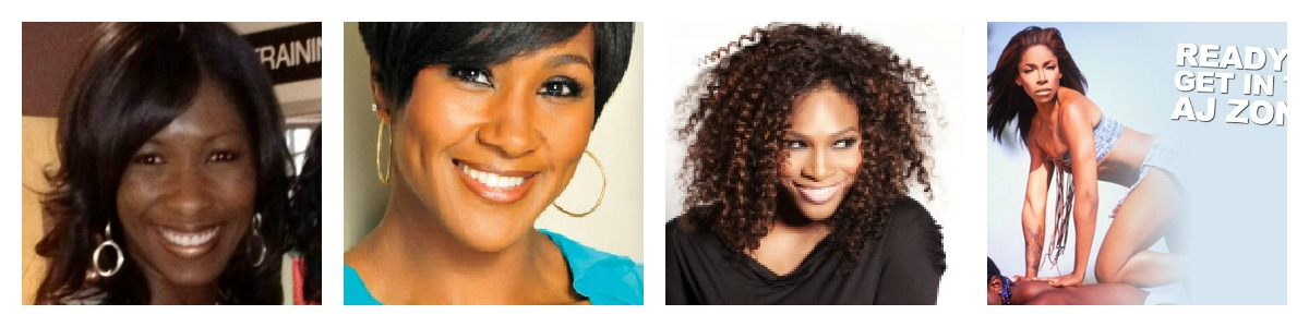 People I am frequently compared to. Google Images of Terri Vaughn, Serena Williams, and Adrienne-Joi Johnson respectively from their website