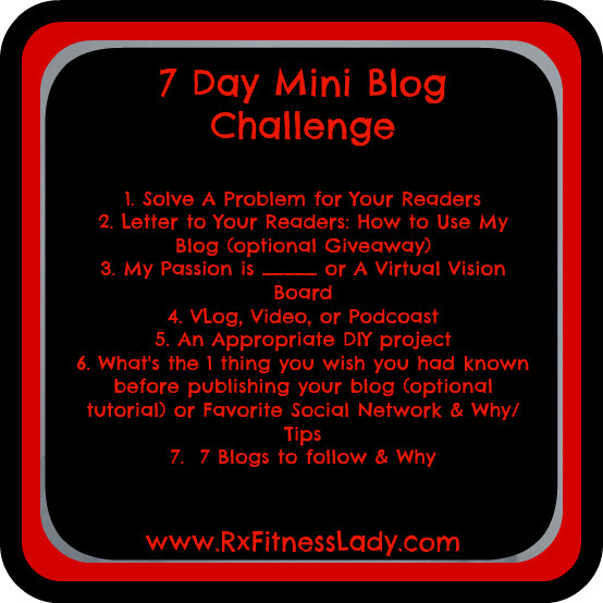 7 Day Challenge Questions