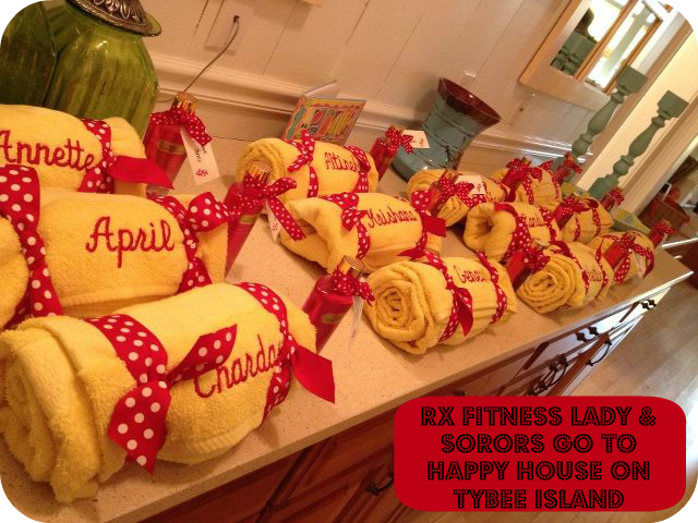 Rx Fitness Lady Happy House