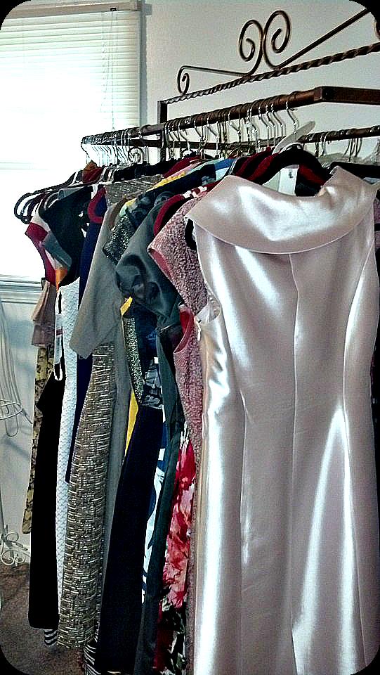DIY Temporary Closet Dresses