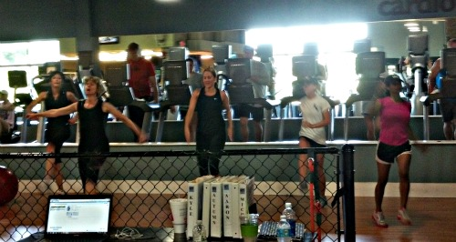 Group Fitness in a Cage