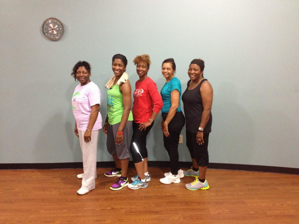 A FEW OF THE  MEMBERS OF DST THAT CAME OUT FOR A FITNESS INSPIRED MAY WEEK ACTIVITY