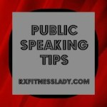 From Blogger to Speaker: Public Speaking Tips