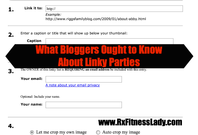 What Bloggers Ought to Know About Linky Parties