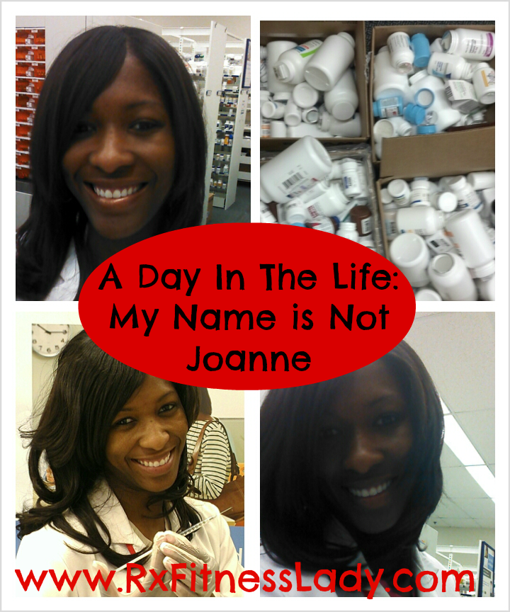 A Day In the Life My Name is Not Joanne