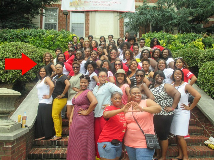 Eta Chapter of Delta Sigma Theta -Rx Fitness Lady
