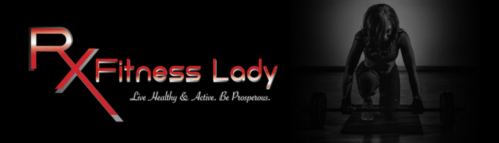 Rx Fitness Lady Banner - Rx Fitness Lady