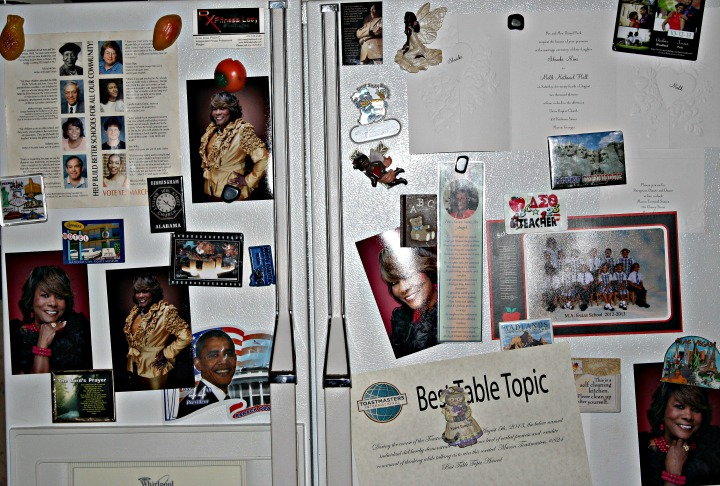 Old School Blogging Fridge - Rx Fitness Lady