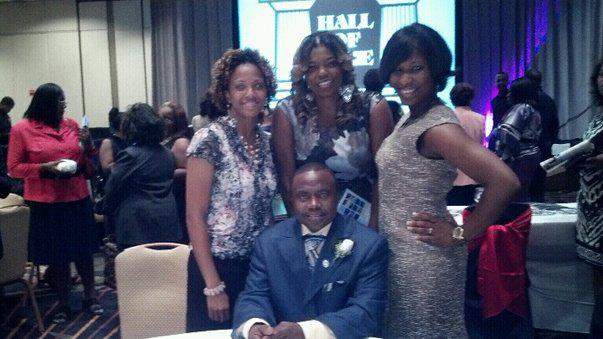 US A FEW YEARS AGO WHEN COACH BARTLEY WAS INDUCTED IN THE HBCU HALL OF FAME