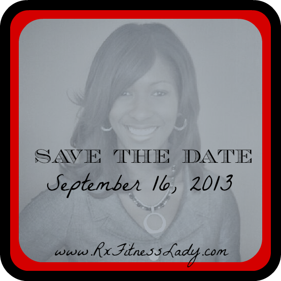 Save The Date - Mini Blog Challenge Party #2 - Rx Fitness Lady
