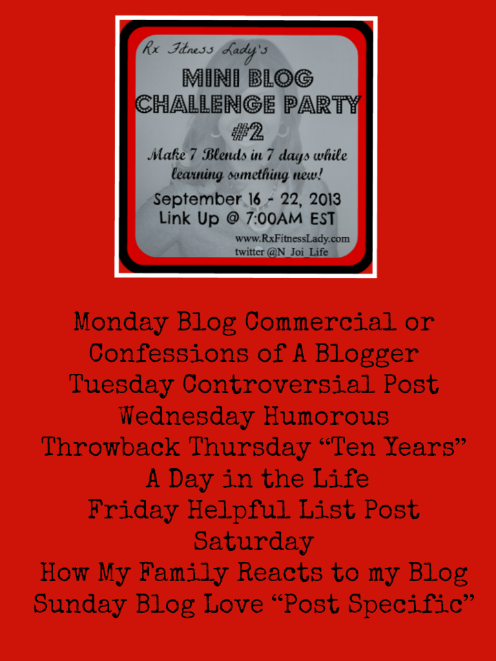 You're Invited To A Blog Party Again