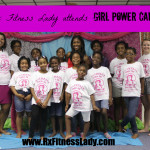 Rx Fitness Lady Attends Girl Power Camp hosted by Real I.M.P.A.C.T. Center