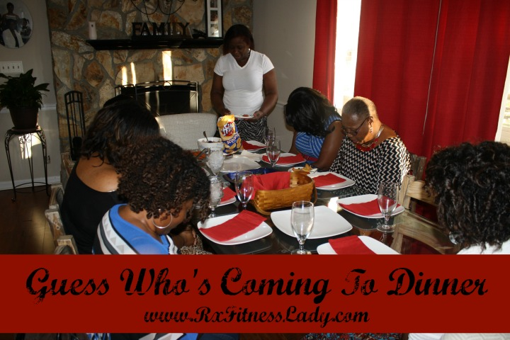 Guess Who's Coming To Dinner - Rx Fitness Lady