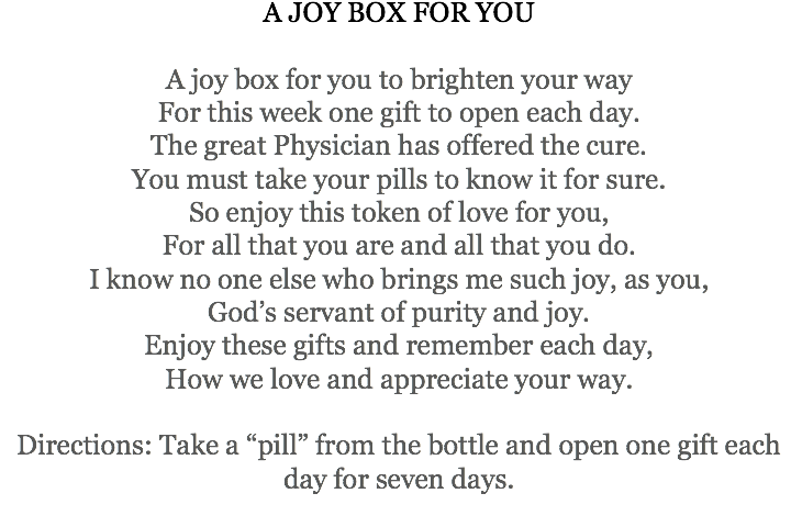 A Joy Box For You