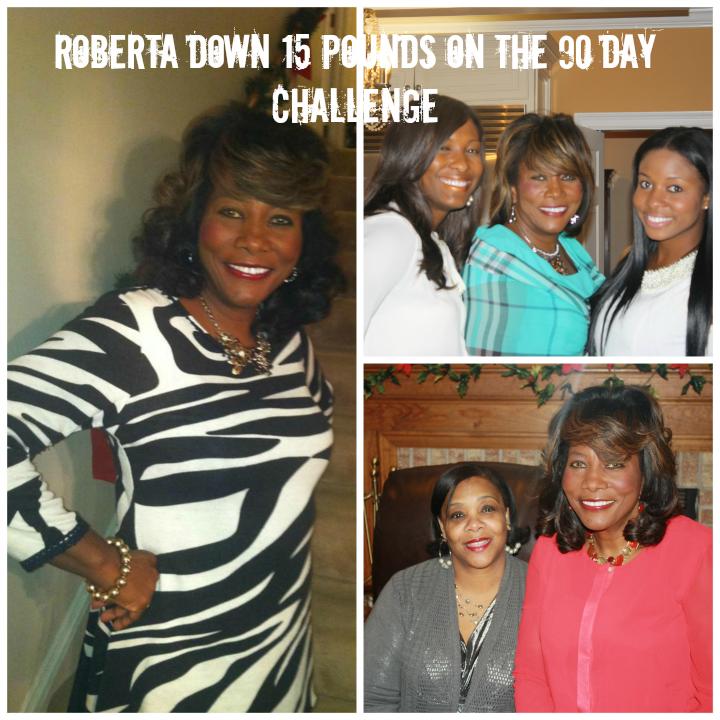Roberta on the 90 Day Challenge