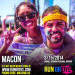 Run or Dye with Rx Fitness Lady in Macon Middle GA