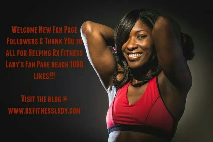 Rx Fitness Lady Facebook Fanpage