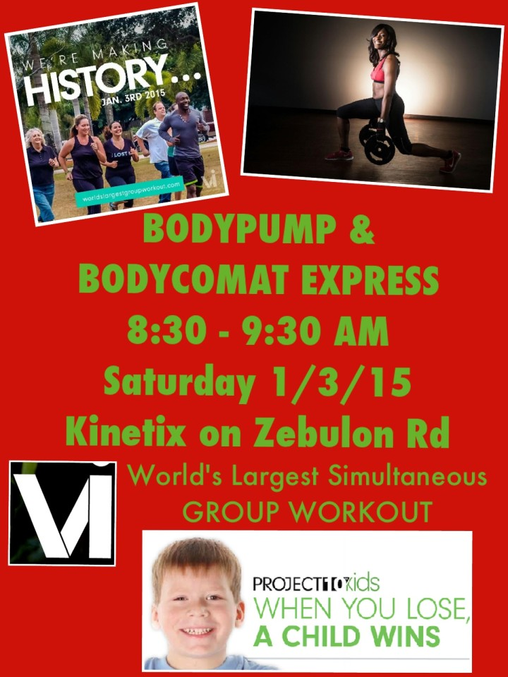 BODYPUMP & BODYCOMBAT MACON MIDDLE GA GROUP WORKOUT