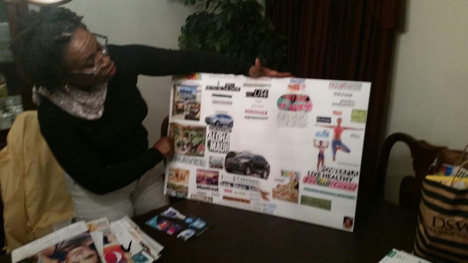 Linda's Vision Board