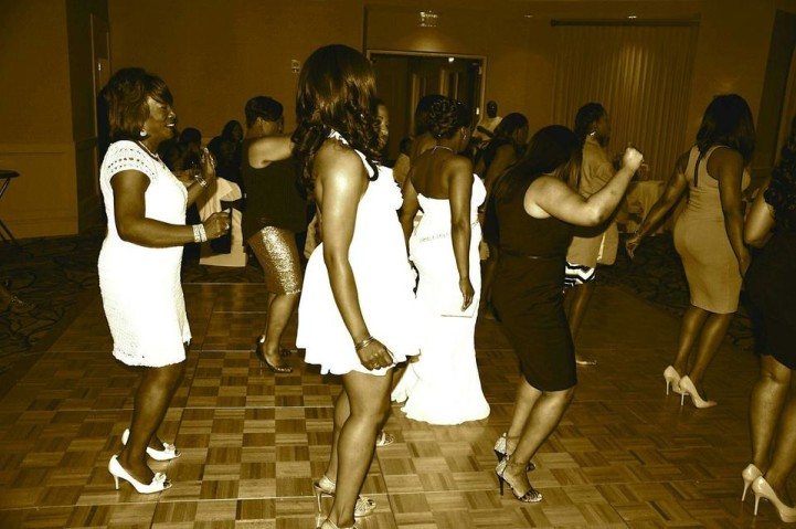 Wedding Line Dancing