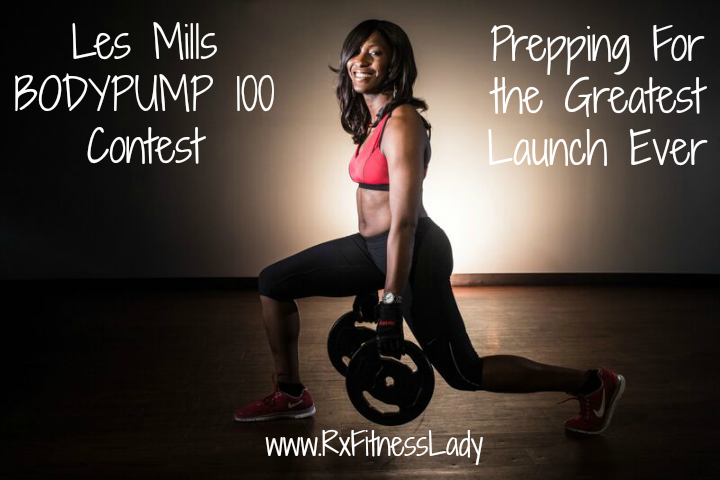 Les Mills BODYPUMP 100 Contest Prepping For the Greatest Launch Ever