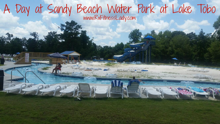 Sandy Beach Water Park Rx Fitness Lady
